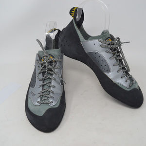 La Sportiva Nago Unisex Gray Lace Up Athletic Shoe